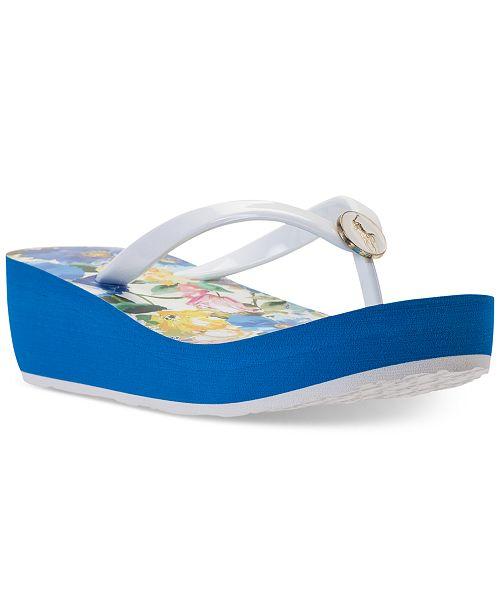 e30678dc0d60 ... Polo Ralph Lauren Little Girls  Borolla II Flip-Flop Thong Sandals from  Finish ...