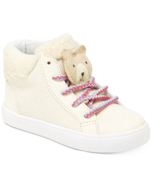 Carters Sydney FauxFur HighTop Sneakers Toddler  Little Girls (453)