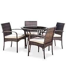 Nesten 5-Pc. Dining Set, Quick Ship