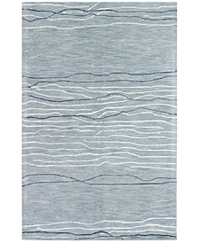 "CLOSEOUT! Waves 3'9"" x 5'9"" Area Rug"
