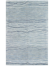 "Kenneth Mink Waves 3'9"" x 5'9"" Area Rug, Created for Macy's"
