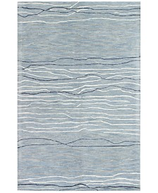 "Kenneth Mink Waves 3'9"" x 5'9"" Area Rug"