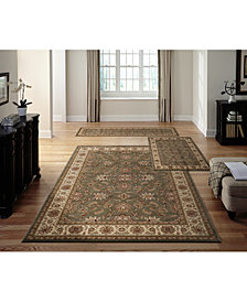 KM Home Roma Meshed 3-Pc. Rug Set