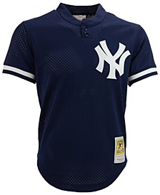 Men's Don Mattingly New York Yankees Authentic Mesh Batting Practice V-Neck Jersey