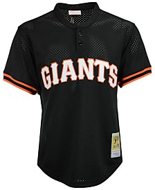 Mitchell & Ness Men's Matt Williams San Francisco Giants Authentic Mesh Batting Practice V-Neck Jersey