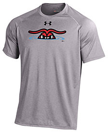 Under Armour Men's Hickory Crawdads Logo Tech T-Shirt