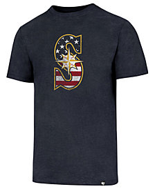 '47 Brand Men's Seattle Mariners Americana Star T-Shirt
