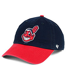 '47 Brand Cleveland Indians On-Field Replica CLEAN UP Cap