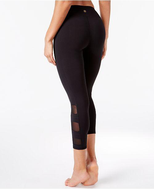 66973af1a203d9 Gaiam Whitney Om Capri Yoga Leggings & Reviews - Pants & Capris ...