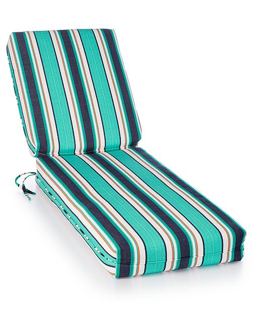 Northcape International Sunbrella Outdoor Chaise Cushions, Quick Ship
