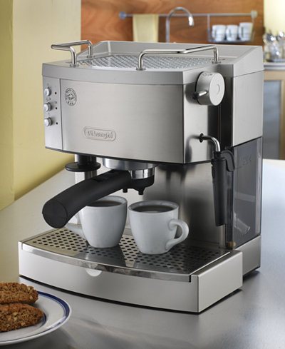 De'Longhi EC702 15 Bar Stainless Steel Espresso and Cappuccino Machine