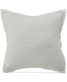"CLOSEOUT! Croscill Nellie Quilted 16"" Square Decorative Pillow"