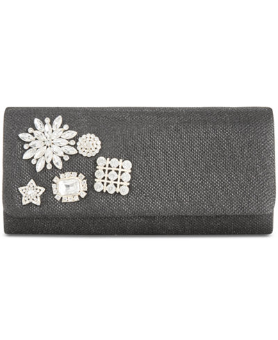 Adrianna Papell Sunny Jeweled Small Clutch