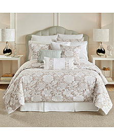 CLOSEOUT! Croscill Nellie 4-Pc. Floral King Comforter Set