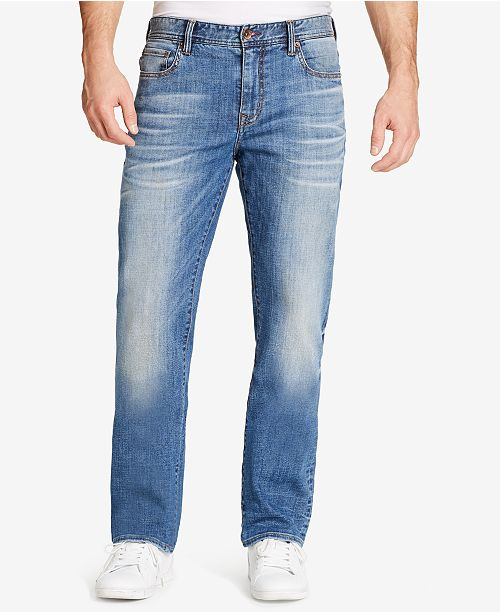 WILLIAM RAST Men's Legacy Relaxed-Straight Fit Stretch Jeans