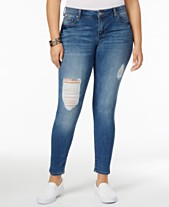 67f3f25c80a Body Sculpt by Celebrity Pink Trendy Plus Size The Slimmer Skinny Jeans