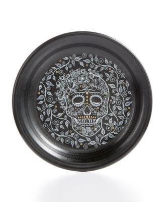 Skull and Vine Appetizer Plate