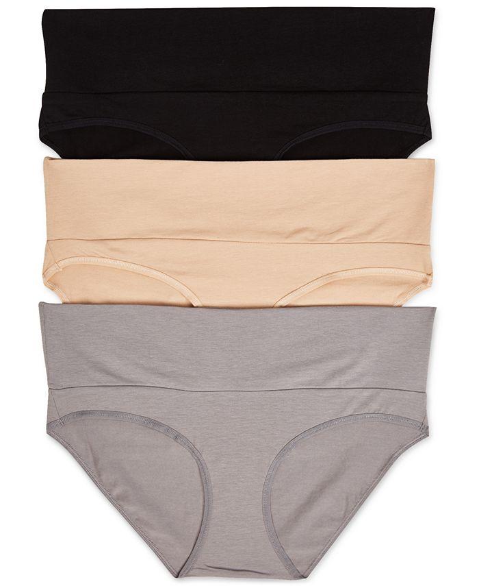 Motherhood Maternity - Maternity 3-Pk. Fold-Over Panties