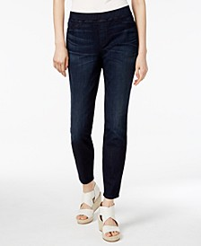 Organic Cotton-Blend Pull-On Jeggings, Regular & Petite