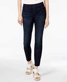 d18f92f5ffe1ce Eileen Fisher Stretch Jersey Knit Skirted Leggings, Regular & Petite ...