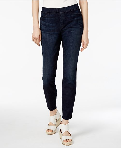 1f74b2584e Eileen Fisher Organic Cotton-Blend Pull-On Jeggings