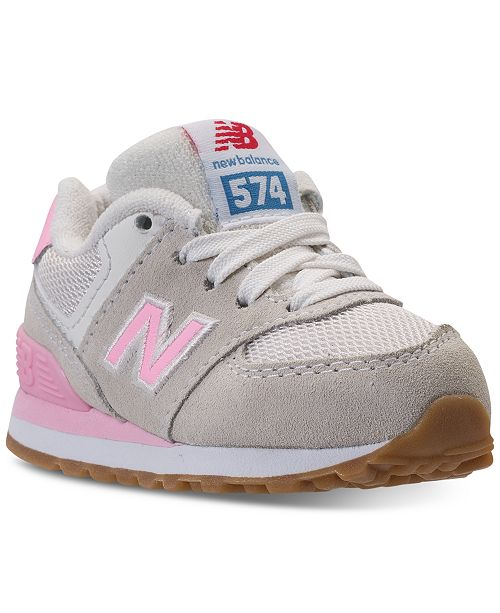 competitive price 6fdf5 25a4a New Balance Toddler Girls' 574 Casual Sneakers from Finish ...
