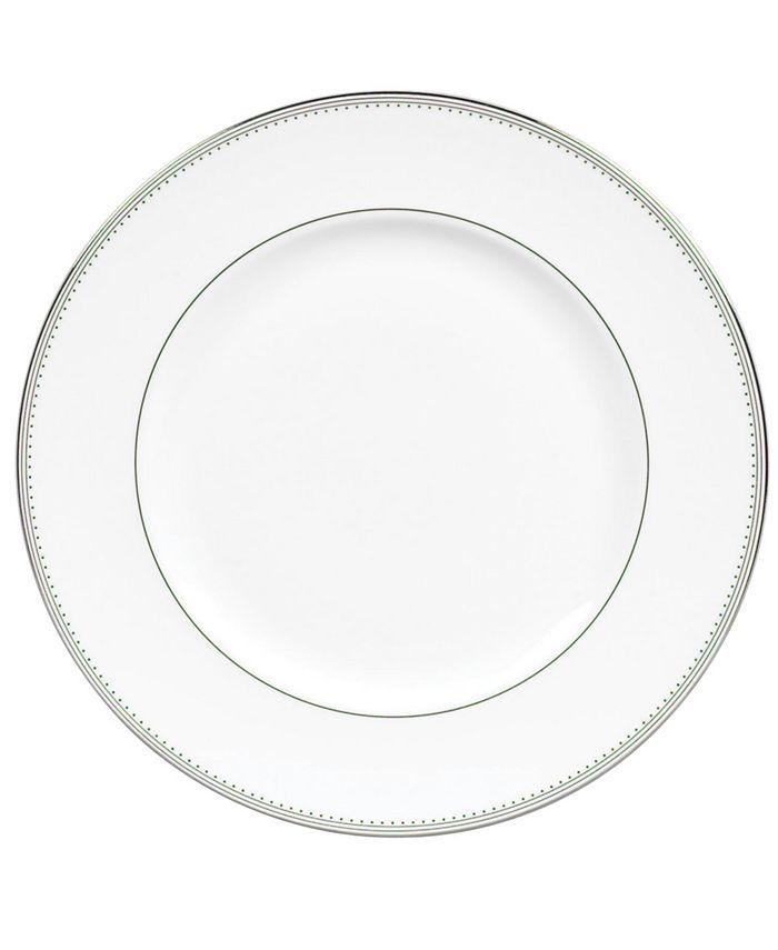 "Vera Wang Wedgwood - Vera Wang ""Grosgrain"" Dinner Plate"
