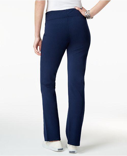 9e525b7dc Style   Co Petite Tummy-Control Bootcut Yoga Pants