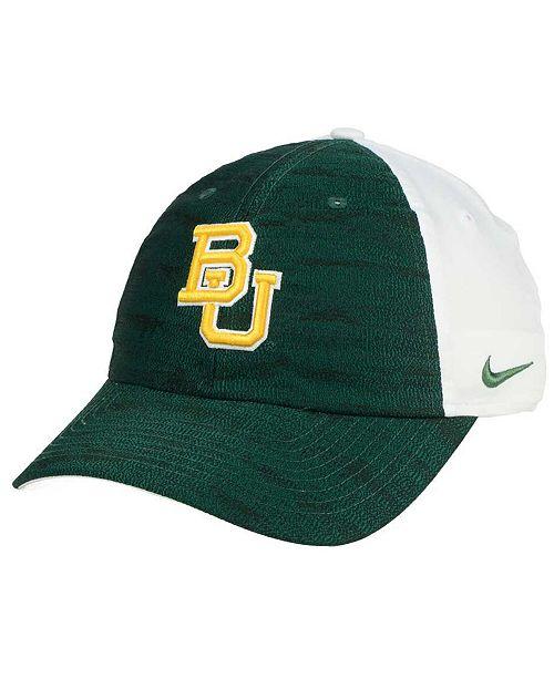 Nike Women s Baylor Bears Seasonal H86 Cap - Sports Fan Shop By Lids ... 9e4d9fe395d