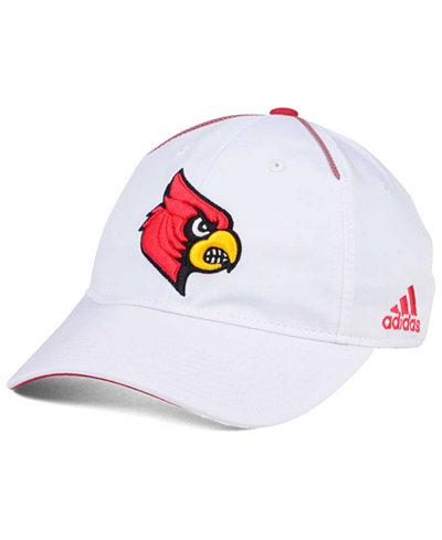 adidas Louisville Cardinals Spring Game Easy Adjustable Cap