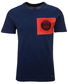 Nike Men's Paris Saint-Germain Club Team Crest Logo T-Shirt