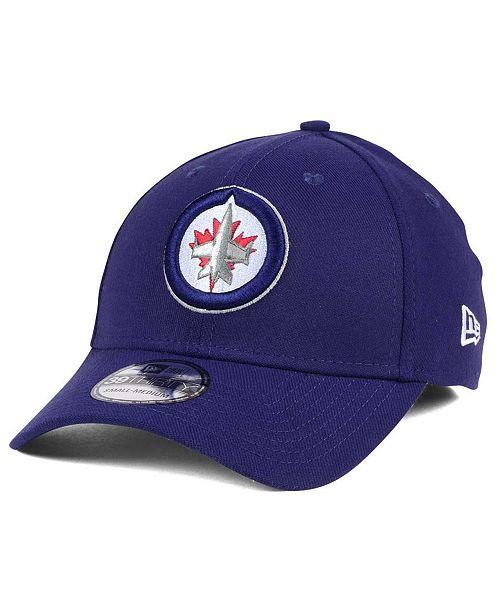 42ce682b82f New Era Winnipeg Jets Team Classic 39THIRTY Cap - Sports Fan Shop By ...