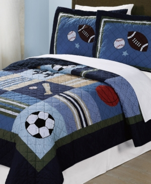 My World All State Reversible 2-Pc. Twin Quilt Set Bedding