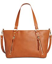 INC International Concepts Emaa Zip Large Satchel, Created for Macy's