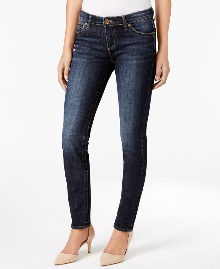Kut from the Kloth - Diana Skinny Cuffed Jeans