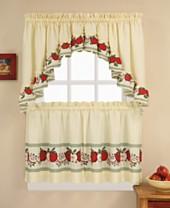 No Maisie Plaid Kitchen Curtain Swag Valance Set