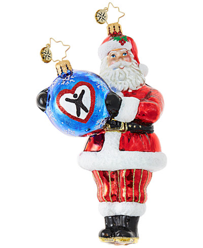 Christopher Radko Dave Thomas Adopting Darling Ornament