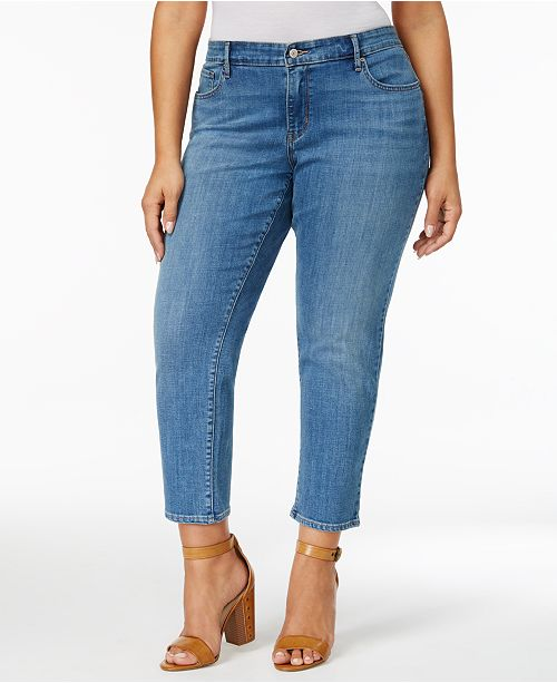 a9cf9c70886 Levi s Plus Size 711 Ankle Skinny Jeans  Levi s Plus Size 711 Ankle Skinny  ...