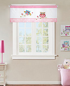 "Mi Zone Kids' Wise Wendy 50"" x 18"" Appliqué Valance"
