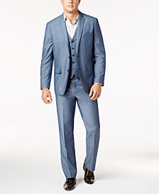 I.N.C. Men's Chambray Suit Separates, Created for Macy's