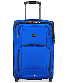 "Delsey Opti-Max 21"" 2-Wheel Expandable Wheeled Carry-On Suitcase, Created for Macy's"