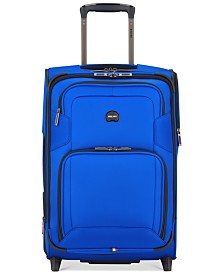 "CLOSEOUT! Delsey Opti-Max 21"" 2-Wheel Expandable Wheeled Carry-On Suitcase, Created for Macy's"