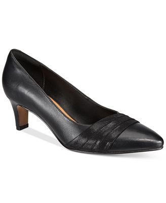 Clarks Collection Women's Crewso Madie Pointed-Toe Pumps