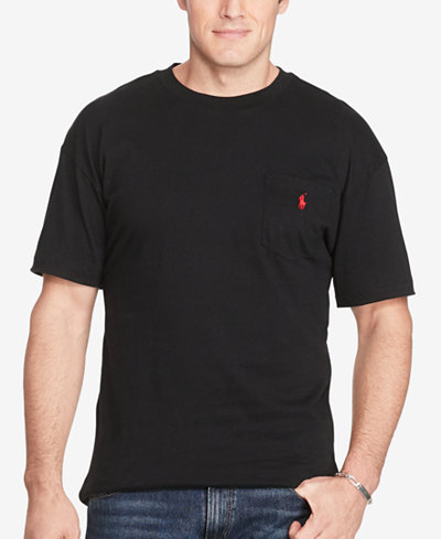 Polo Ralph Lauren Men 39 S Big And Tall Pocket Cotton T Shirt