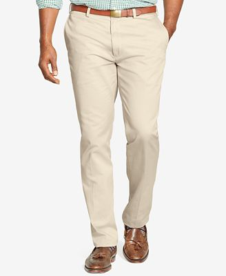 Polo Ralph Lauren Men's Big and Tall Pants, Suffield Classic-Fit Flat-Front