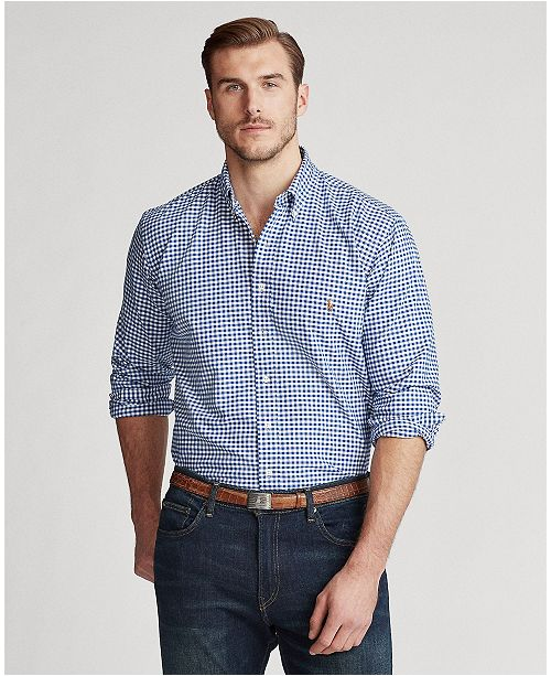 f4125e6503 ... Polo Ralph Lauren Men s Big and Tall Classic Fit Long-Sleeve Oxford  Shirt ...