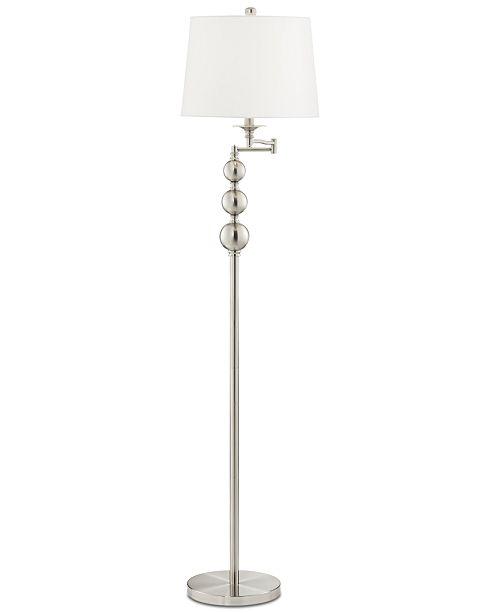 Kathy Ireland Pacific Coast Winny Swing Arm Floor Lamp