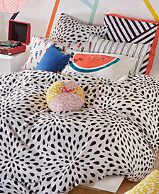Scribble Reversible 3-Pc. Ink Drop Full/Queen Comforter Mini Set