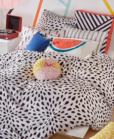 Scribble Ink Drop Bedding Collection