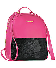 Receive a Complimentary Juicy Couture Backpack with any large spray purchase from the Juicy Couture fragrance collection